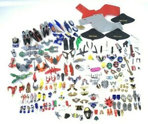 Mighty Morphin Power Rangers Lot 185 Pieces Accessories Parts MMPR VTG Vintage