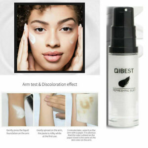 Qibest Colour Color Changing Foundation Makeup Change Skin Tone
