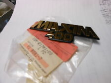 NOS 1982-1983 Yamaha XS400J Maxim 400 XS400 Side Cover Emblem #1 12R-21781-00
