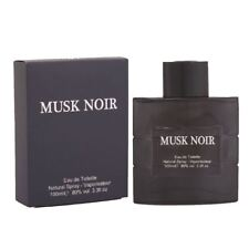 Mens Musk Noir Pour Homme e100ml Parfum Eau de fragrance Xmas Gift Set For Him
