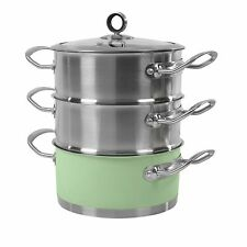 Morphy Richards Stainless Steel Steamers Pans