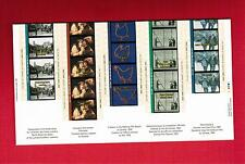 1996 TIMBRES CANADA STAMPS  MINI SHEET( Mn)  # 1615 a to e ** CINEMA   M-15