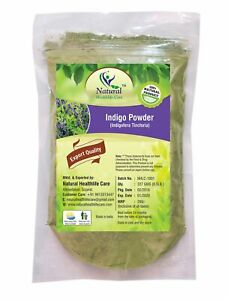 Natural Healthlife Care Indigo Powder Natural Product Export Quality, 227 Gram