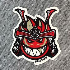 Spitfire Samurai Warrior Bighead Skateboard Sticker 3in si