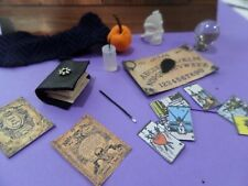 Witch's Wicked Assortment Dollhouse Miniatures 1:12 scale Halloween