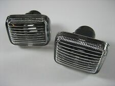 P38 Range Rover / Discovery 1 Clear Side Marker Repeater Light Set Allmakes 4x4