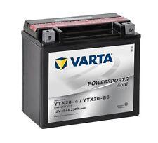 Varta Powersports AGM ytx20-4 ytx20-bs Batería de la Motocicleta 18ah 518902026