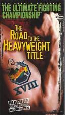 VHS: THE ULTIMATE FIGHTING CHAMPIONSHIP XVIII ROAD TO THE HEAVYWEIGHT TITLE