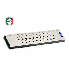 ITALIAN ROUND DRAWPLATE 31 HOLES 0.5 - 3mm JEWELRY WIRE PULLING TOOL
