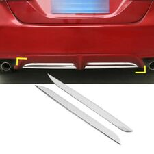 2PCS Stainless steel rear bumper rear lip cover trim Fits Toyota Camry 18