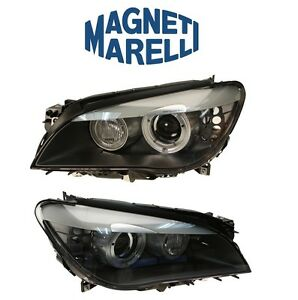 For BMW F01 F02 750i Pair Set of Left & Right Xenon Headlights Magneti Marelli