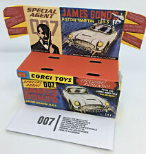 Corgi 261 James Bond's Aston Martin DB5 1st Issue Empty Inner & Outer Repro Box