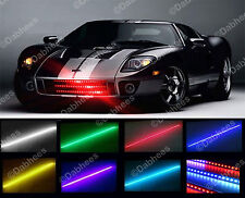 Impermeable Control Remoto Knight Rider Led Scanner Luz 7 Color Multi Color