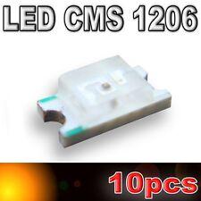 103/10# LED CMS 1206 orange 180mcd - SMD orange - 10pcs