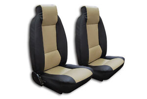 FIAT X-1/9 BERTONE IGGEE S.LEATHER CUSTOM FIT SEAT COVER 13 COLORS AVAILABLE