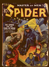 Spider 3/1941 vol. 23 # 2 in Fair-Good GGC (pulp)