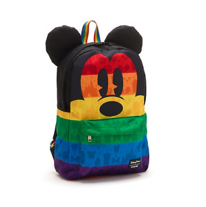 BNWT Loungefly Disney Backpack Mickey Mouse Rainbow - Immediate Dispatch