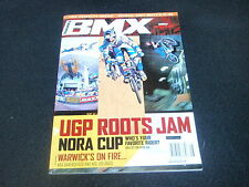 NOS ORIGINAL BMX TRANSWORLD! AUGUST 2001 MAGAZINE VOLUME 8, ISSUE 8, NO. 58