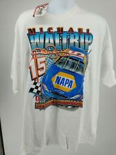 NEW Vtg Michael Waltrip#55 NASCAR Double Sided Racing T-Shirt Chase Authentic XL