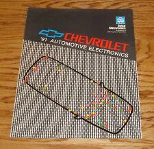 Original 1991 Chevrolet Delco Automotive Electronics Sales Brochure 91 Chevy