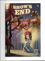 Mad Cave Studios Show's End #1 (2019) BAT Comic Shop Variant (1 of 120) Sold Out