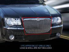Polished Billet Grille Grill Vertical Style Fits 2005-2010 Chrysler 300C