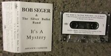 """BOB SEGER """"IT'S A MYSTERY"""" 1995 UNPLAYED-OUT OF PRINT-ADVANCE PROMO CASSETTE"""