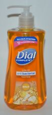 1 DIAL COMPLETE GOLD LIQUID SOAP WASH ANTI BACTERIA 11 OZ PUMP