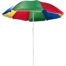 Tilting Beach Garden Patio Umbrella Tilt Parasol Sun Shade Outdoor Protection