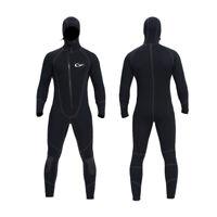 Wetsuit 5mm Scuba Diving Suit Men Neoprene Underwater hunting Surfing Front Zip
