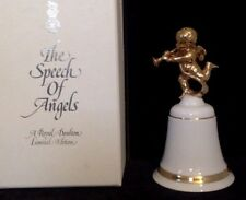 """Royal Doulton. Angel Bell """"The Speech of Angels"""". Gold Trim.Limited Edition Mimb"""