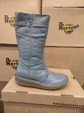 DR MARTENS AUTHENTIC WEDGE BOOT GREY SIZE 4
