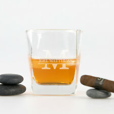 Custom Engraved Birthday Scotch Whiskey Glass 18th 21st 30th 40th 50th 60th Gift