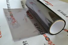 "Black Light Smoke HeadLight - Taillight Tint Vinyl Film Sheet Sticker 12""x72"""