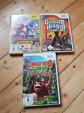 Nintendo Wii Spiele - Guitar Hero 3,Mario/Sonic London 2012, Donkey Kong