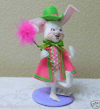 """NWT! 2015 Annalee 6"""" """"EASTER PARADE BOY BUNNY"""" #201315 Colorful Easter"""