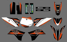 NEW GRAPHICS DECALS FOR KTM SX50 SX 50CC 50 KTM50 2009 10 11 12 13