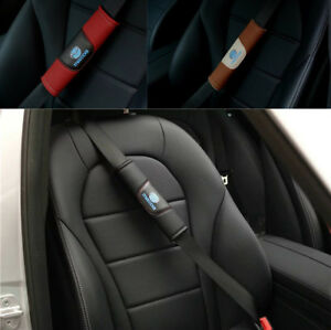2Pcs High Quality Car Seat Belt Shoulder Cushion Cover Pad Fit for Mazda Auto
