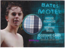 "2016 BATES MOTEL SEASON 2 COSTUME CARD: FREDDIE HIGHMORE #CFH1 ""NORMAN BATES"""