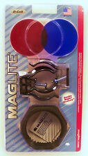 New Maglite D Cell Accessory Pack ASXX376E Mag-lite Mounts Lens Anti Roll GIFT