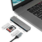 5 in1 USB Type C HUB Adapter SD/TF Card Reader For MacBook Air/Pro MultiPort