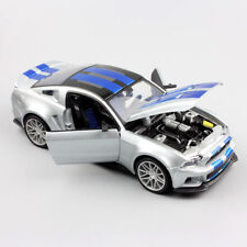 1/24 Scale 2014 Ford mustang Diecast Model Car Race Toy