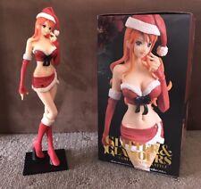 One Piece - Red Christmas Nami Figure Figurine - 26cm - Banpresto Genuine - BNIB