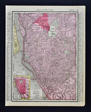 1900 Rand McNally Map - Buffalo Plan - Pan American Exposition Site - New York