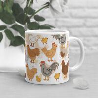 Chicken Coffee Mug, Pet Chicken Lover, Cute, Gift For Her, Him, Hen Cup