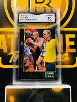 1992 Upper Deck Larry Bird #26 Basketball Heroes - 10 GEM MINT GMA Graded NBA