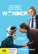 Wonder (DVD, 2018) NEW