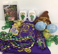 Krewe of Tucks Mardi Gras Bead Signature Beads & Throws & Cups & More