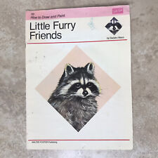 189 How to Draw and Paint Little Furry Friends by Sadako Mano Book Walter Foster