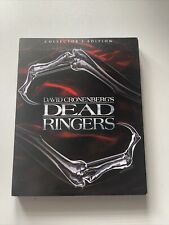 Dead Ringers Blu Ray Inc Slip Cover Scream Factory Sold Out Oop